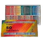 50 Stück Pastellkreide Marie's Set C Warm-/Kalttöne Pastellkreiden