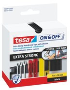 tesa On & Off Klettband, extra stark, 1m x 50mm