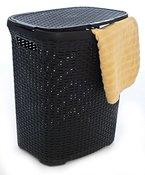 SCHÄFER Wäschekorb- Wäschebox - Wäschetruhe Rattan aus Kunststoff sales by JOLTA®