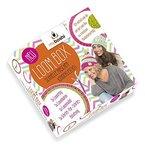myboshi Strick-Ring Loom-Set inkl. Anleitung für eine Mütze - ideal für Einsteiger und Kinder ➧ Strickring + Anleitung + Loomhaken + Loomnadel