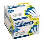 Giotto 5392 SF - RoberColor Enrobee Wandtafelkreide, Karton mit 100 Stück in weiß