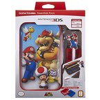"Offizielles Nintendo New 3DS XL / 3DS XL - Zubehör-Set ""Official Essential Mario Pack"" , Motiv: Bowser"