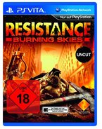 Resistance: Burning Skies - [PlayStation Vita]