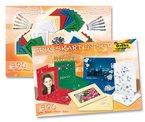 Folia 10020 - Grußkarten-Set, 890 teilig, Materialmix (Karten, Glitter...)