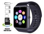 Smart Watch, Badmüllbehälter Pushman 1Wasserdicht Smart Watch Telefon für iPhone 5S/6/6S und 4.2Android oder vor Smartphones, Badmüllbehälter Pushman