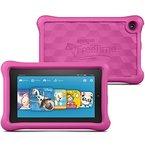 Fire Kids Edition-Tablet, 17,8 cm (7 Zoll) Display, WLAN, 16 GB, Pink Kindgerechte Schutzhülle