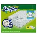 Swiffer Trocken Wischtücher mit Febrezeduft, 2er Pack (2 x 18 Tücher)