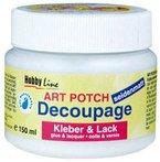 Art Potch Decoupage Kleber & Lack seidenmatt 150ml [Spielzeug]