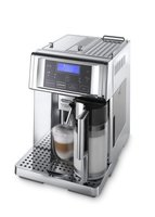 DeLonghi ESAM 6750 Kaffee-Vollautomat PrimaDonna Avant Chrome Line (1.8 Liter, 15 bar, Milchbehälter)