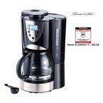 Rosenstein & Söhne Kaffeemaschine KF-615 mit Mahlwerk und Timer, 1,5Liter, 12 Tassen