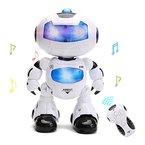 Ferngesteuerter Roboter für Kinder mit Musik Licht, tanzt,intelligente RC Roboter Spielzeug von Wishtime