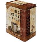 Nostalgic-Art 30110 Coffee und Chocolate Best in Town, Vorratsdose L