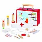 Medico - 83529 - Tierarztkoffer mit viel Inhalt Arztkoffer Kinderarztkoffer