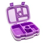 Bentgo Kids - Lunchbox mit 5 Unterteilungen, auslaufsicher (Lila)
