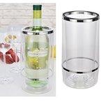 Weinkühler Flaschenkühler aus Kunststoff doppelwandig Höhe 23cmn 12000