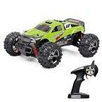 Vatos RC Ferngesteuertes Auto Monster Off Road RC Buggy High Speed 4WD 40km/h Im Maßstab 1:24 Fernbedienung 50M 30 Minuten Spieldauer 2.4GHz Elektro mit wiederaufladbaren Batterien und Akku VL-BG1510B-G (Grüne)