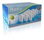 PearlCo Pack 12 = classic = Filterkartuschen (kompatibel mit Brita Classic - NICHT für Maxtra-Filter)