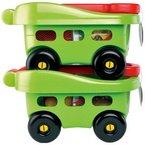 Ecoiffier-France Kinder Bollerwagen 40x27 cm mit Sandspielzeuge