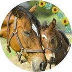Tortenaufleger Pferde 026