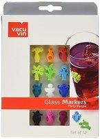 Vacu Vin Glasmarker Party People Set á 12 Stück von Vacu Vin