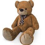 XXL Kuschel-Teddybär groß in Braun - Kuscheltier Stofftier Plüschbär Teddy