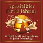 Original RAHMENLOS® Design: Selbstklebendes Bier-Flaschen-Etikett zum 50. Geburtstag. 1 St.
