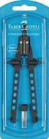 Faber-Castell 174335 - Schnellverstellzirkel, Factory Neon, sortiert