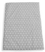 Ideenreich 2283 Krabbel- und Spieldecke King Size Decke, Sterne, 150 x 180 cm, grau