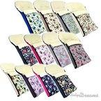 Babys-Dreams Winterfußsack EULEN 90cm oder 108cm für Kinderwagen Lammwolle Lamm Wolle NEU Wintersack Wolle Fußsack (108cm, $12)