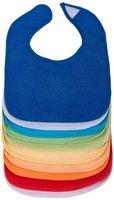 Bieco 38000325 - Lätzchen 10er Set in verschiedenen kräftigen Farben