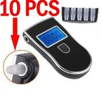 Xgeek® 10 pcs Mundstücke für Alkoholtester Analyzer Detector