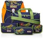 Scout - Alpha - Schulranzen Set 5 tlg. - Dino Expedition