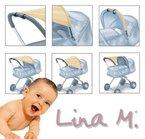 Sonnensegel Kinderwagen, UPF 80+, zertifizierter Schutz!! dunkelblau