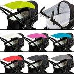 Sonnensegel (UV-Schutz 50+) für Buggy / Kinderwagen (Oxford Polyester) (Marine)