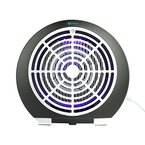 Apalus® Umweltschonde LED UV Insektenfalle, Elektrische Mückenfalle Für Drinnen, Elektrischer Mücken Beseitiger Mit Vakuum Ventilator, Elektrische Insektenfalle Mit Ultravioletten Licht, Zum Fangen Von kleine Insekten geeignet, Frei Von Chemikalien