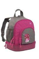 Lässig Mini Backpack Kinderrucksack Kindergartentasche, Brotdosenfach unten, Mushroom magenta Pink