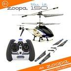 ACME - zoopa 150 blu iz | 2,4 GHz Helikopter mit Ambient Lights |60m Reichweite | Alluminiumrahmen | leicht zu fliegen durch neuste Gyrotechnik (AA0178)