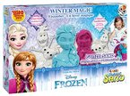 Craze 54230 - Magic Sand Frozen Winter Magic Box. Ca. 600g Sand mit Glitzer in 3 verschiedenen Farben
