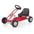 Kettler Kettcar Spa - DAS ORIGINAL - Farbe: Rot und schwarz - Go Karts für Kinder - hochwertiges Tretauto - Artikelnummer: T01015-0000