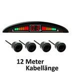 Vega R4S Einparkhilfe mit Farb-Display und eingebautem Pieper, inklusive 4Sensoren in verschiedenen Farben und Designs