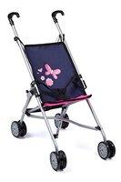 Bayer Design 3011300 - Puppen Buggy, blau/pink