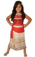 Deluxe Moana - Disney Prinzessin - Kinder Kostüm - Mittel - 116cm - Alter 5-6