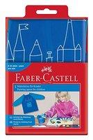 Faber-Castell 201203 - Malschürze für Kinder, Universalgröße, blau