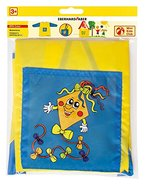 Eberhard Faber 579902 - Mini Kids Club Malschürze, blau/gelb