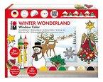 Marabu 040600119 - Window Color Set 25 ml, Winter Wonderland