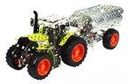 Tronico 10011 - Metallbaukasten - Traktor Claas Arion 430 mit Anhänger, Maßstab 1:32
