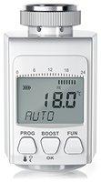 digitales Heizkörperthermostat   bis zu 30% Heizkosten-Ersparnis / Energiespar-Regler   Radiator Thermostat   inkl. 3 Adapter (Danfoss-Ventile RA, RAV, RAVL)   intelligenter Eco/Boost-Modus