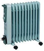 """Einhell Ölradiator MR 1125/2 (2500 Watt, 3 Heizstufen, Thermostat, 4 Lenkrollen, praktische Kabelaufwicklung, integrierter Griff)"