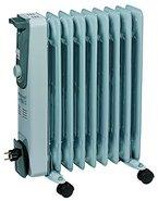 Einhell  Elektro Heizung Ölradiator MR 920/2 (2000 Watt, 3 Heizstufen,  Thermostat, 4 Lenkrollen, praktische Kabelaufwicklung, integrierter Griff)