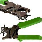 Lochzange Revolverlochzange Leder Gürtelzange Ösenzange Stanzeisen Lederzange 2 - 4,5 mm Zange Gürtelloch